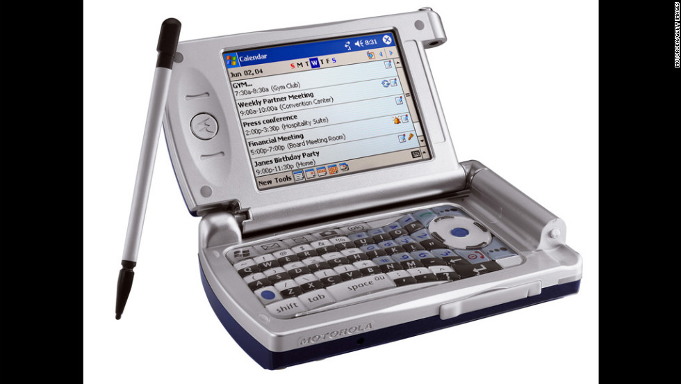 Motorola's MPx wireless device, released in the second half of 2004, took the smartphone to a new level with Wi-Fi capabilities and a fully functional keyboard.