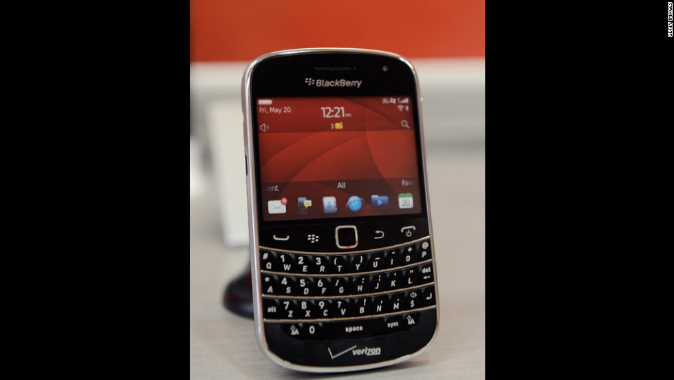 "The BlackBerry Bold 9930, shown here, was one of many BlackBerry devices so popular in the early 2000s they were dubbed ""CrackBerries."" Popular for business applications because of their full keyboards and advanced e-mail capabilities, most BlackBerrys have since been eclipsed by flashier smartphones."