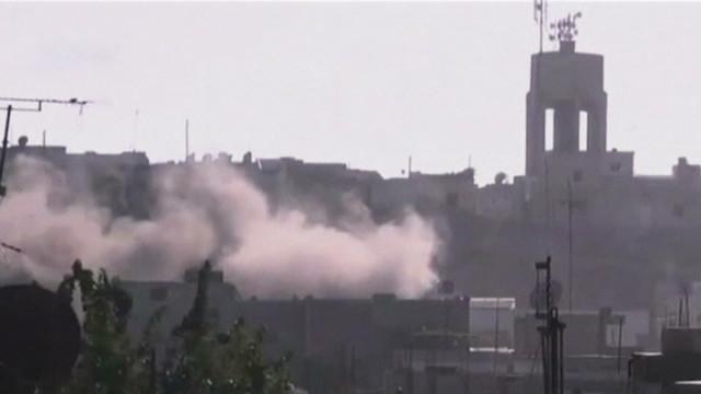 Blast shakes Syrian capitol