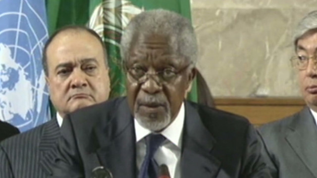 Annan: All parties 'must cooperate'