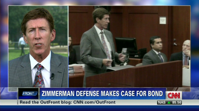 Defense argues for Zimmerman's release