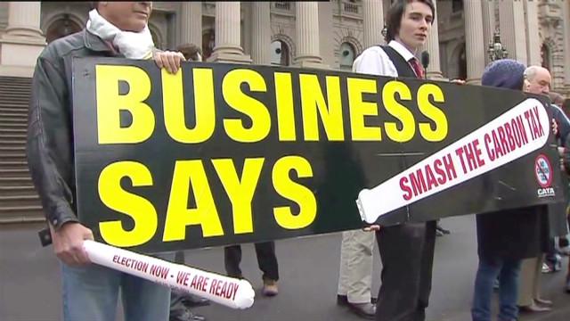 Australia introduces carbon tax