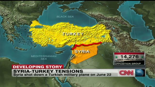 Turkey scrambles jets to Syria border