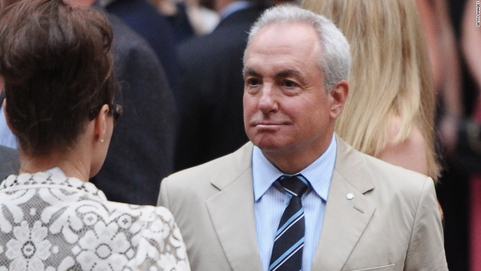 """Saturday Night Live"" creator Lorne Michaels attends the wedding ceremony. He is also the executive producer of ""30 Rock."""
