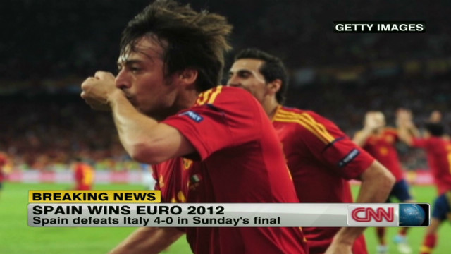 Spain crowned Euro 2012 champions