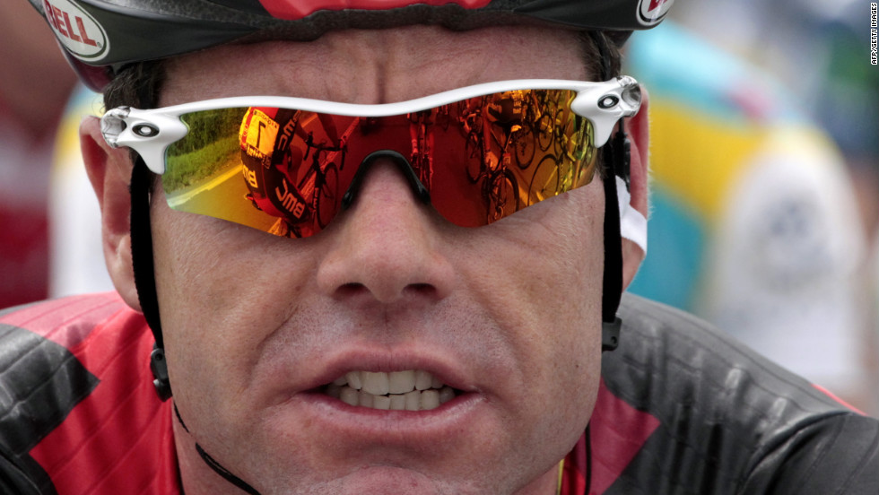 Tour de France 2011 winner Cadel Evans of Australia rides in Stage 3 on Tuesday.
