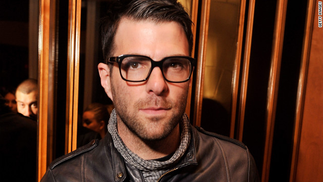 "Zachary Quinto says of his relationship with Jonathan Groff:  ""I'm incredibly happy, I'm incredibly lucky."""