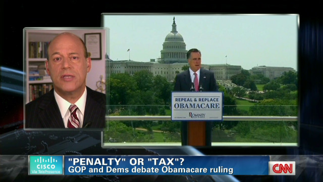 Debating health care: Tax vs. penalty