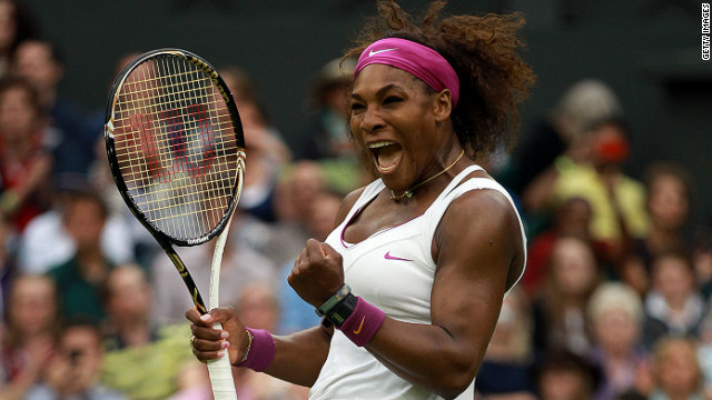 American Serena Williams has won four titles at Wimbledon during her illustrious career