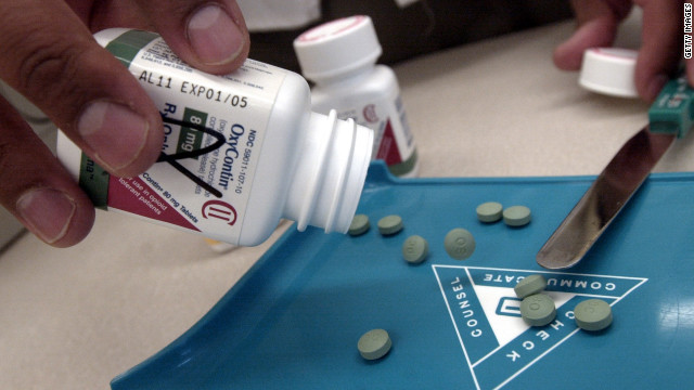 OxyContin tablets have a time-release formula that delivers the drug over a 12-hour period.