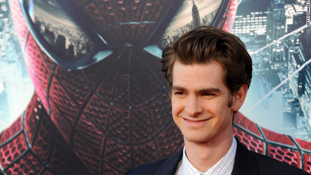 "Andrew Garfield stars in ""The Amazing Spider-Man,"" which earned $7.5 million from midnight shows during its U.S. premiere."