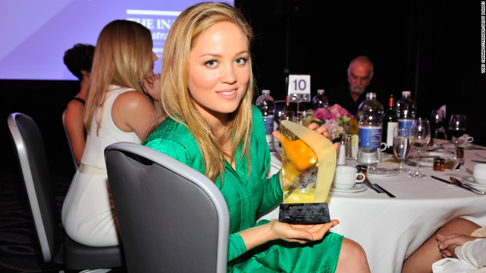 "Actress Erika Christensen co-stars in the television series ""Parenthood."""