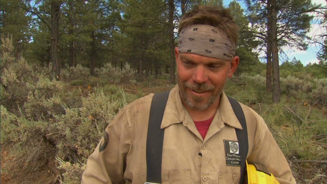 Veterans join war against wildfires