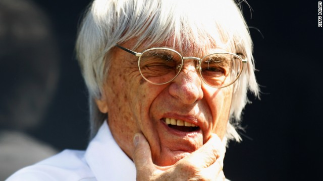 "Formula One chief executive Ecclestone said it was ""inevitable"" that the indictment had been served."
