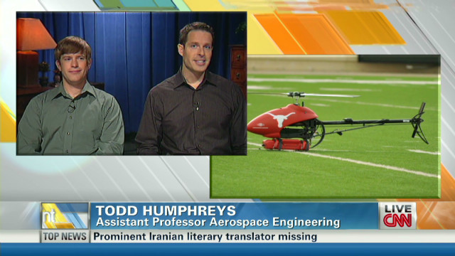 University hacks drone for D.O.D