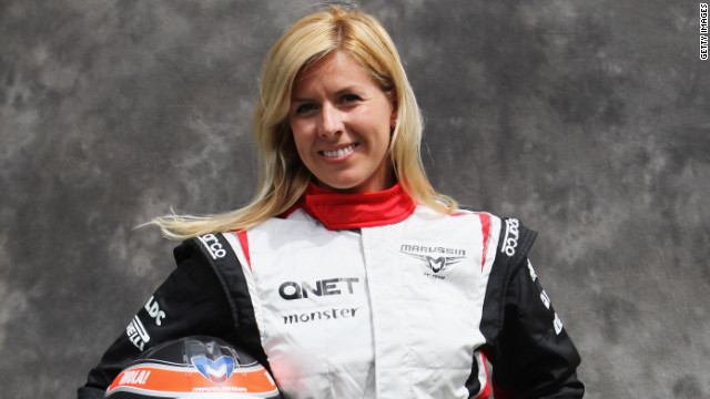 Spain's Maria de Villota was recruited by UK-based Marussia as a test driver in March.