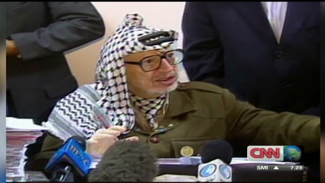 Questions surround Arafat's 2004 death