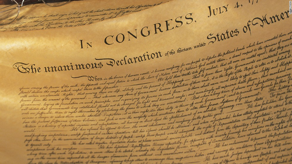 declaration of independence 50 essays