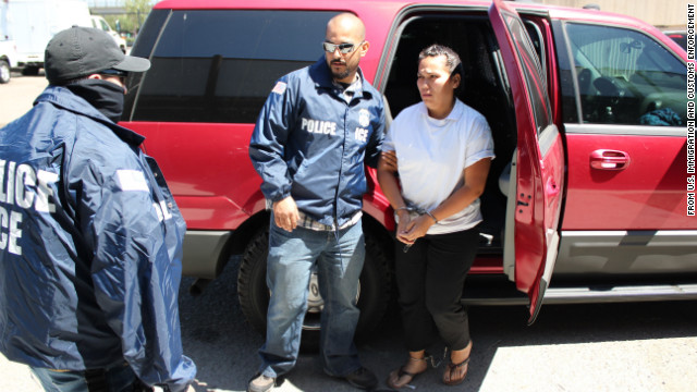 Anel Violeta Noriega Rios helped oversee the cartel's meth distribution activities in California and Washington state, officials said.