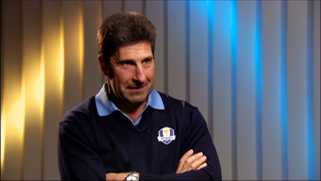 Olazabal ready to lead Ryder Cup team
