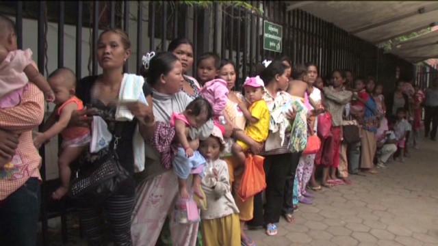 Cambodia mystery illness striking kids