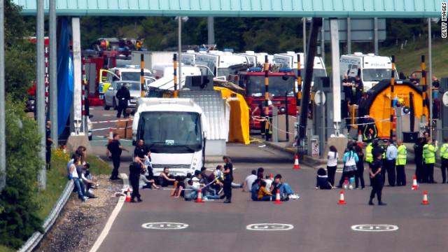 Terror arrests in London