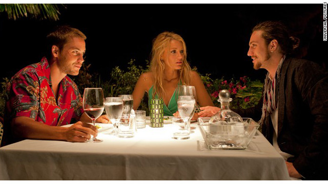 """Savages"" stars Taylor Kitsch, Blake Lively and Aaron Johnson."