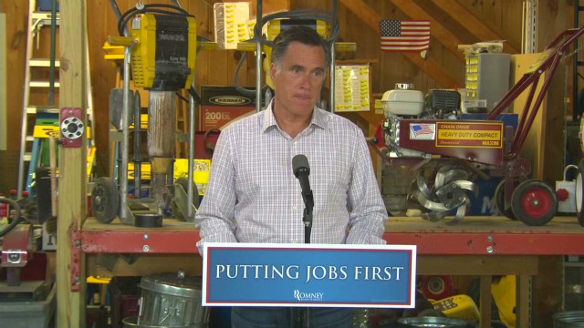 Romney: Jobs report a 'kick in the gut'