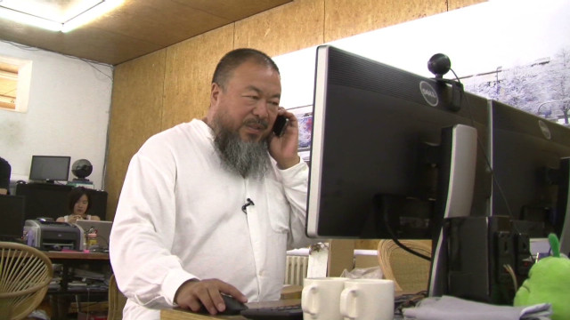 Behind the scenes with Ai Weiwei