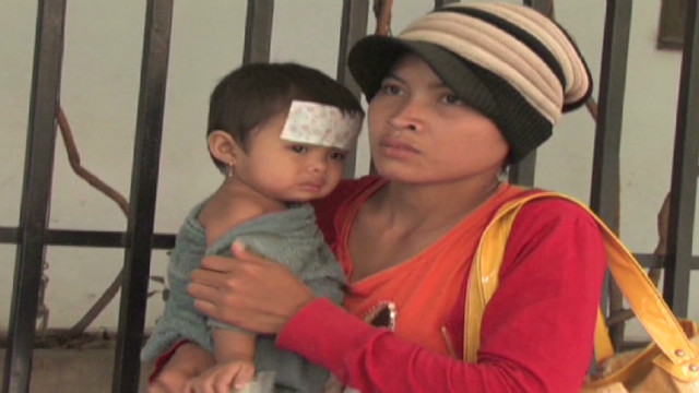 Deadly disease kills Cambodian children