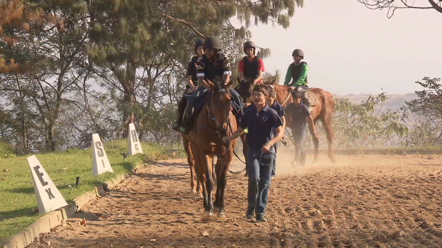 South Africa's jockey school