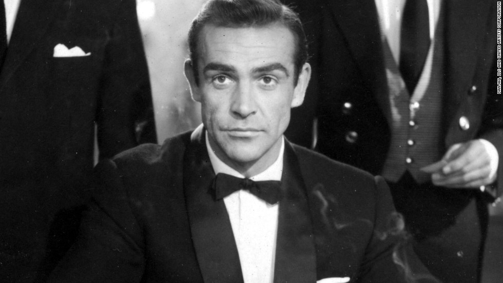 "Scottish actor Sean Connery played James Bond in the first film ""Dr. No"" in 1962."