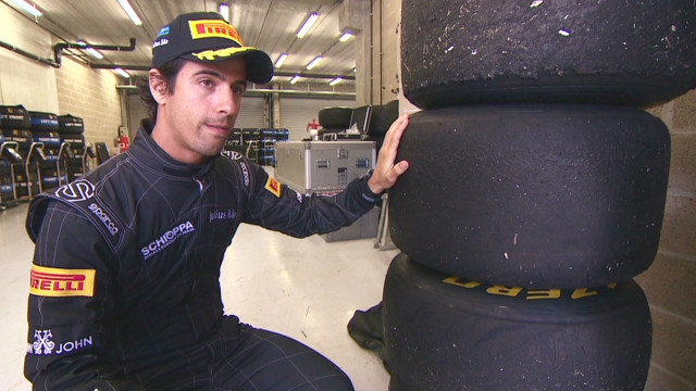 Designing Formula One tires