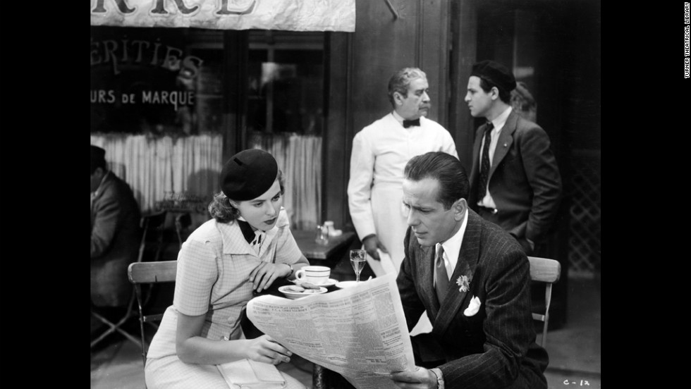 Ilsa Lund (Bergman) and Rick Blaine (Bogart) had a whirlwind romance in Paris, but the Nazi occupation was bearing down on the city.