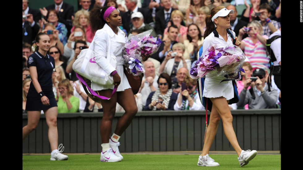 Radwanska, right, the No. 3 seed from Poland, took her place in a showpiece final for the first time in her fledgling career. Her opponent, 30-year-old Williams, also recorded a straight sets win.
