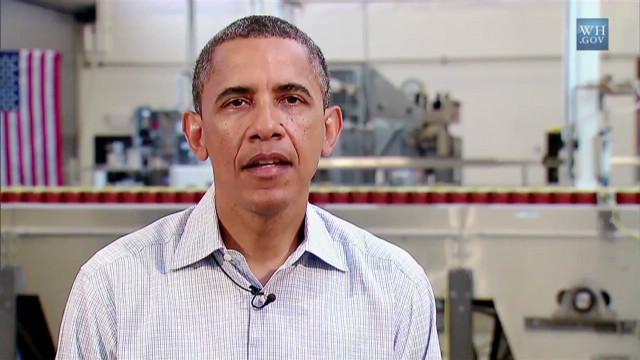 Obama pushing Congress to create jobs