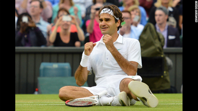 Roger Federer wins 7th Wimbledon title