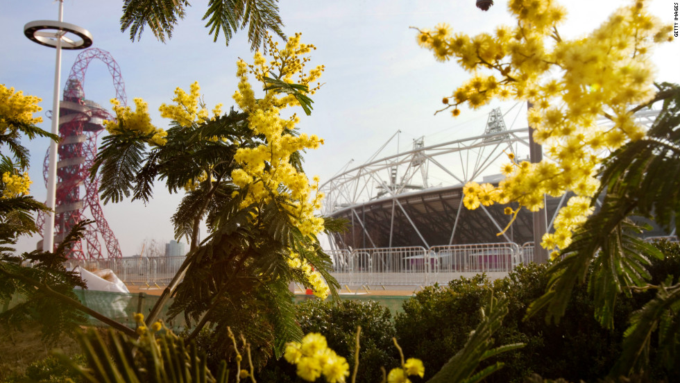 London 2012 organizers have transformed a neglected area of the East End into a green and sustainable Olympic Park.