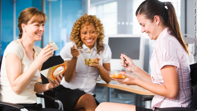 Researcher Ben Waber says expanding your circle of lunchtime companions can improve your performance