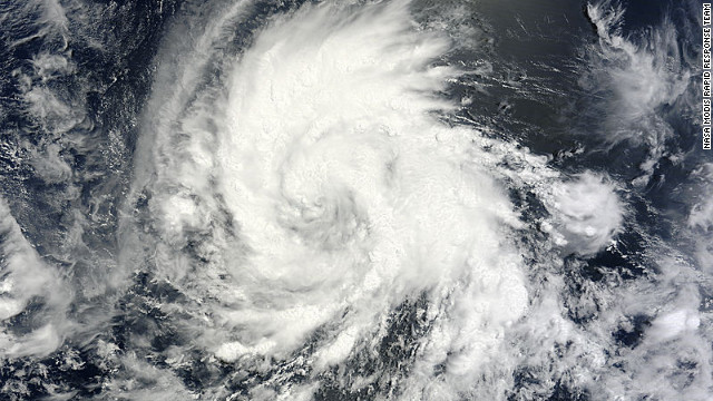 Hurricane Emilia is moving west-northwest in the Pacific Ocean off Mexico and may become a Category 4 storm.