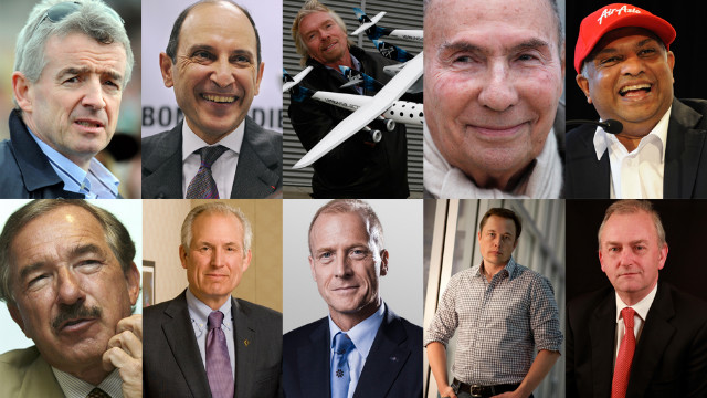 Aerospace magazine editor, Tim Robinson runs down a list of high-flying power players of the aviation industry for CNN.