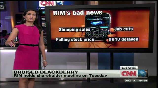RIM has a case of the BlackBerry blues