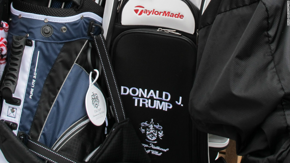 Trump has long been an avid golfer, with a reported low single-figure handicap. He has even published a book compiling advice on the game he has received from his favorite professionals.