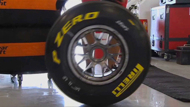 Pirelli tires: Ready to roll