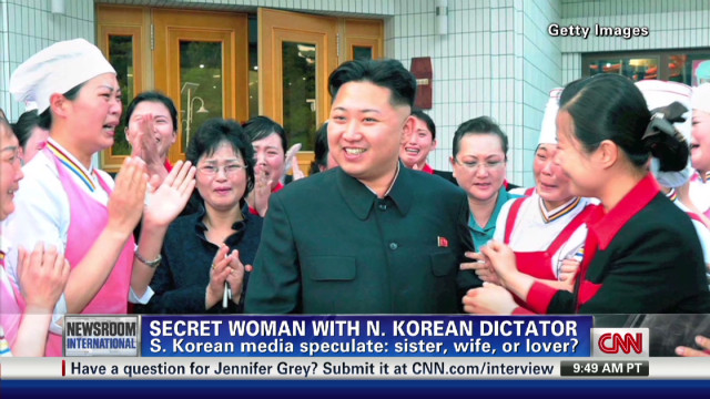 Who's the woman with N. Korean dictator?