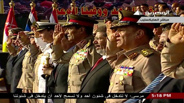 'Owning' the Egyptian revolution