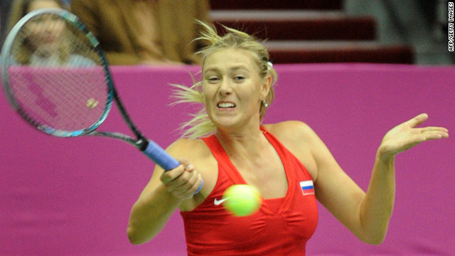 Maria Sharapova helped Russia to reach this year's Fed Cup semifinals.