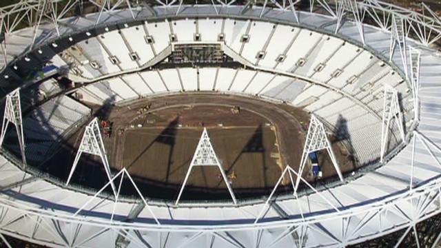 London gets set for 'greenest' Games