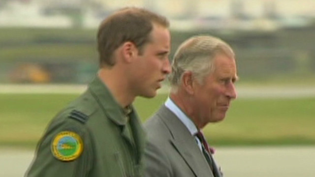 Prince William takes dad to work