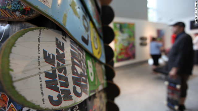 Skateboards as art